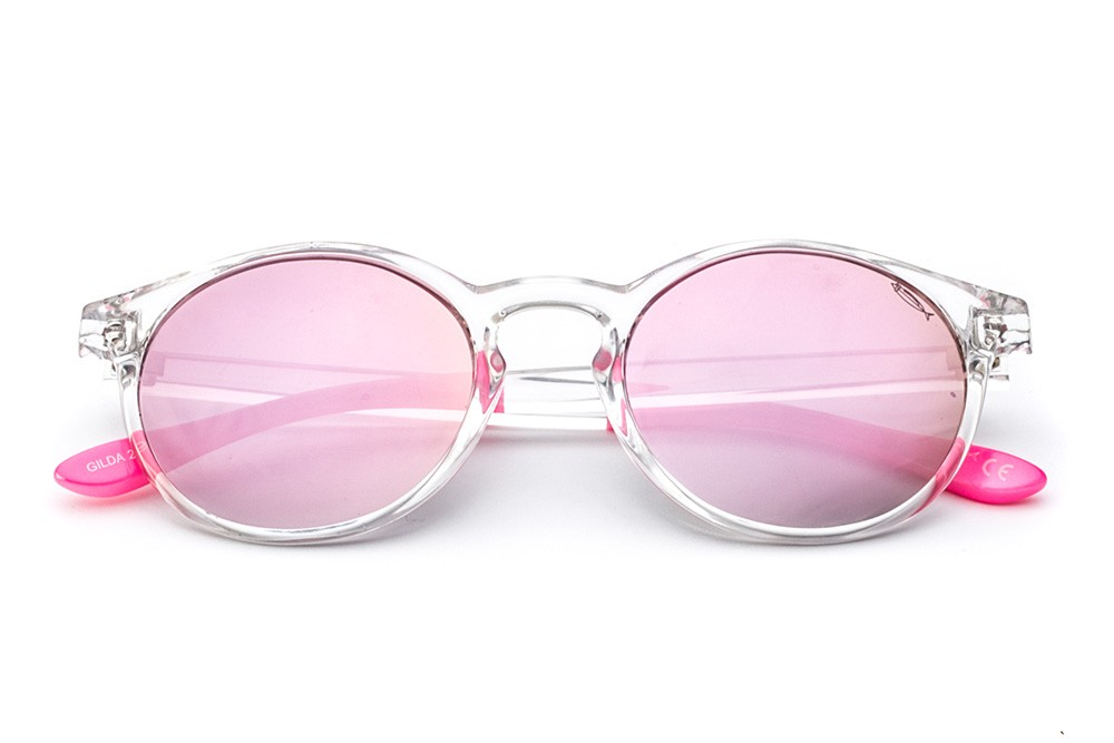 Crystal - Shaded Mirrored Pink Lens