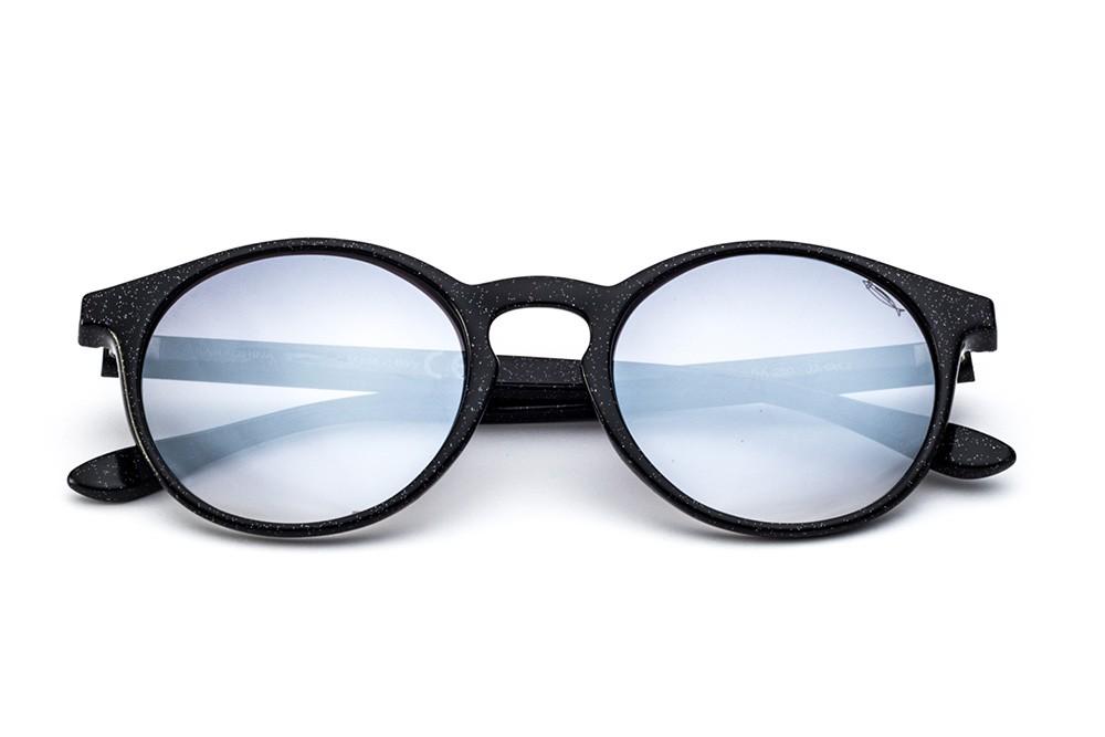 Glitter Black - Grey Flashed Lens