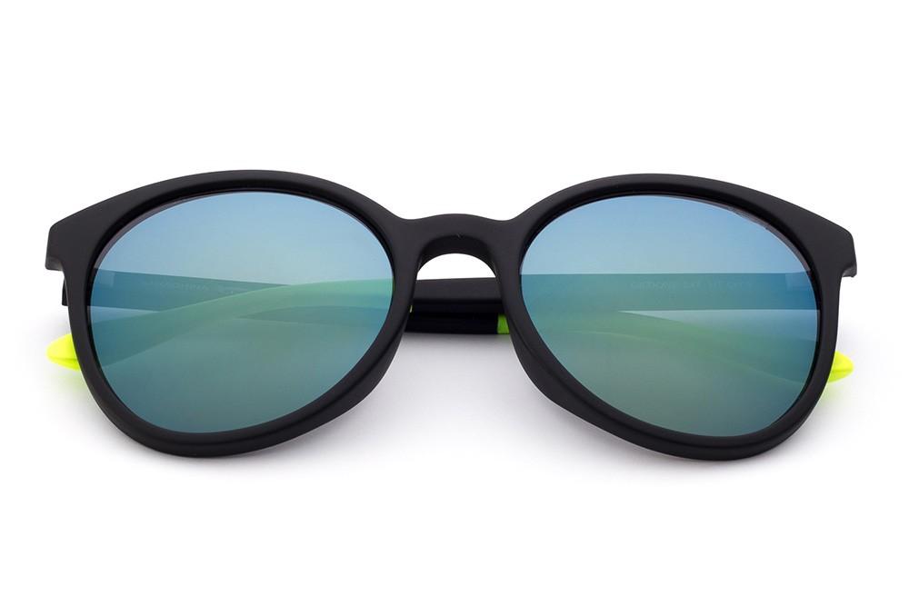 Black - Green/Blue Flashed Lens