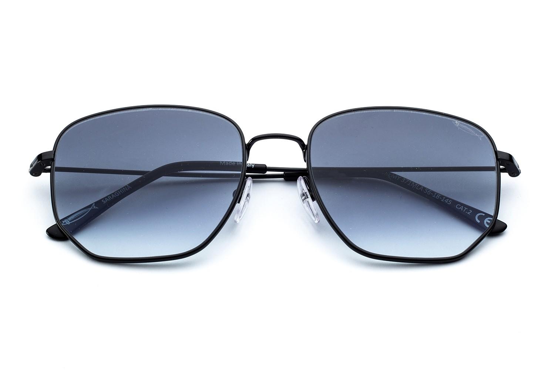 Glossy Black - Gray Gradient Lens
