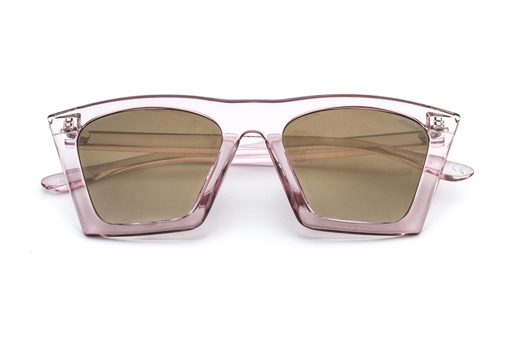 Pink - Golden Flashed Lens