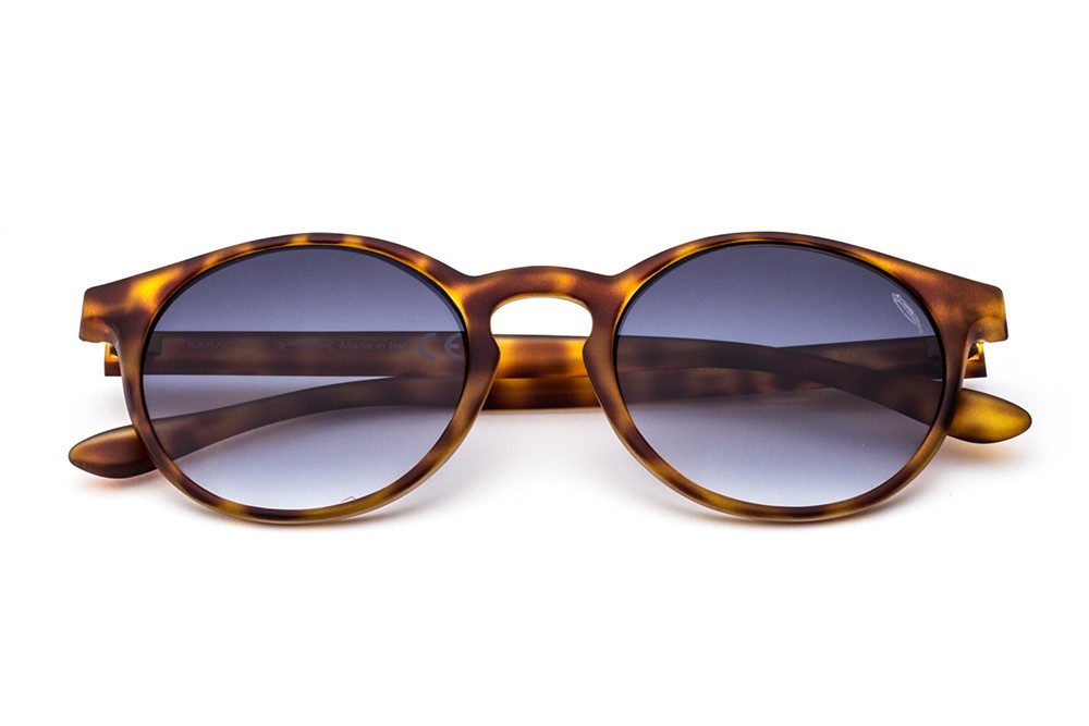 Tortoise Shell - Shaded Grey Lens