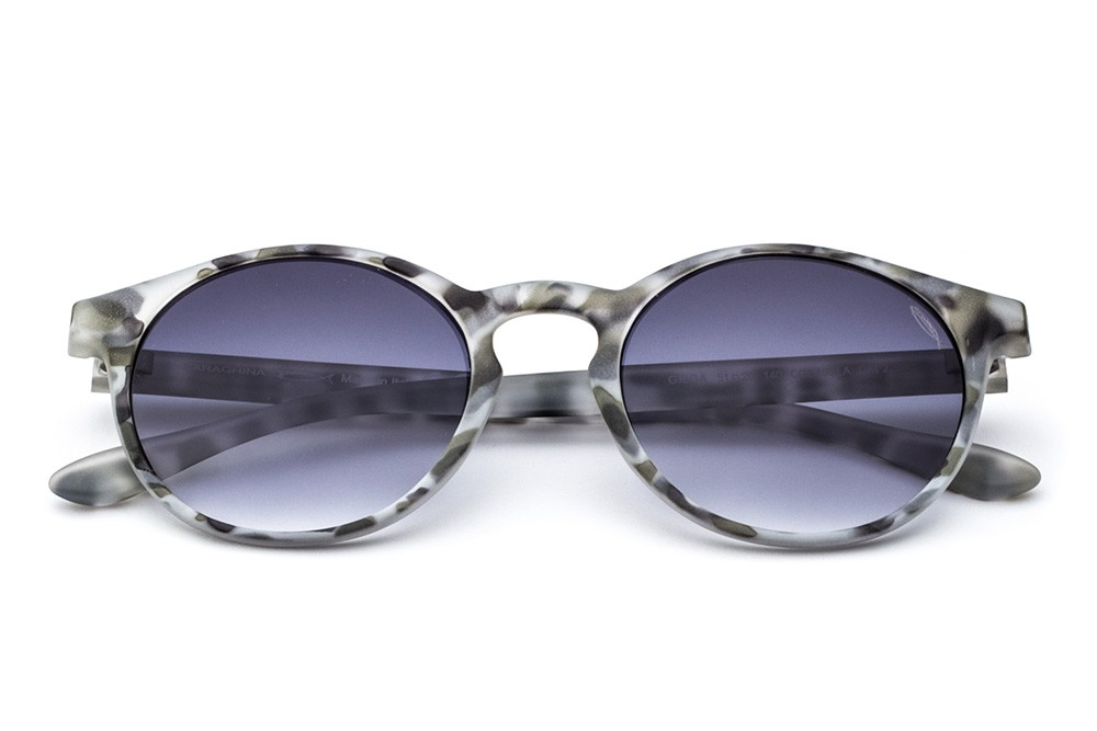 Grey Tortoise Shell - Grey Shaded Lens