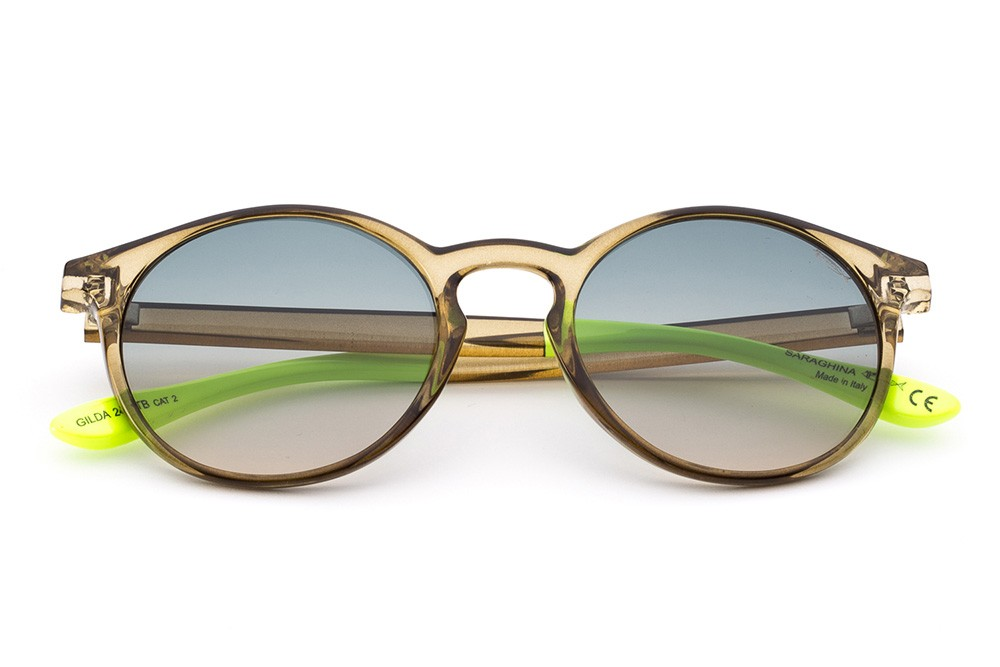 Olive - Grey/Ocher Shaded Lens