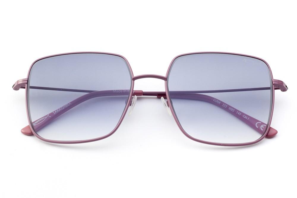 Dark Pink - Shaded Grey/Blue Lens