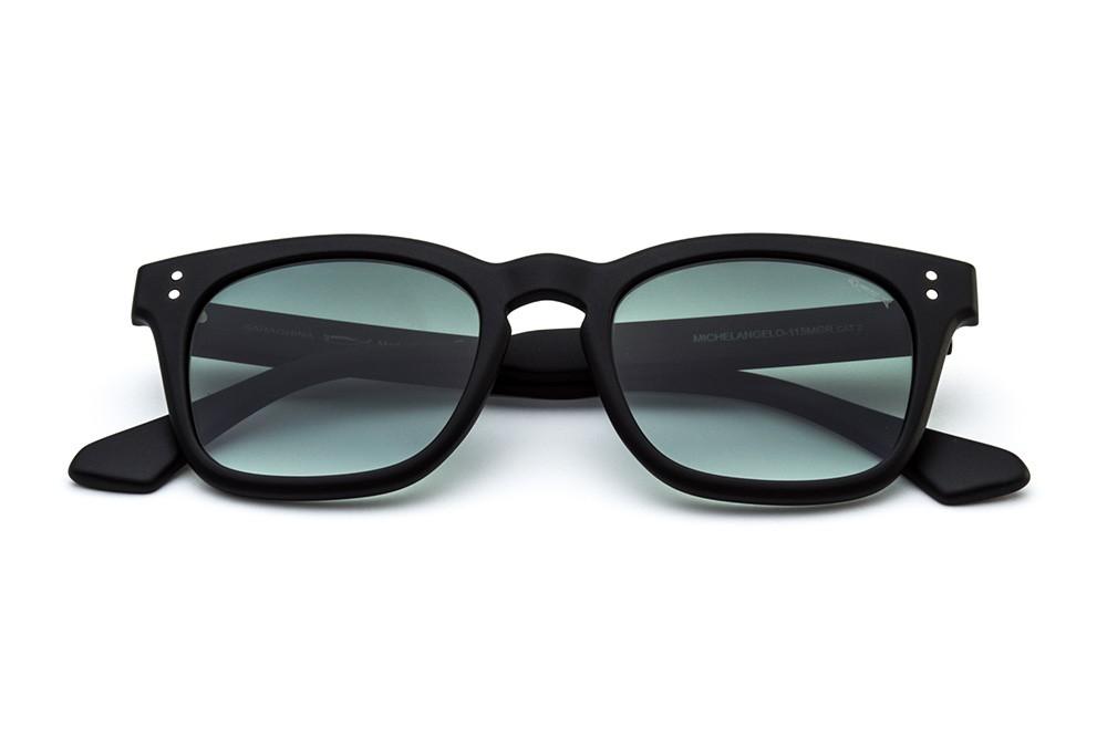 Black - Green Shaded Lens