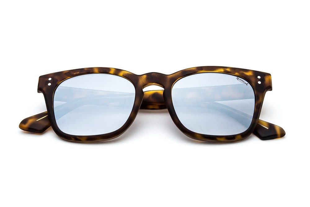 Tortoise Shell - Silver Flashed Lens