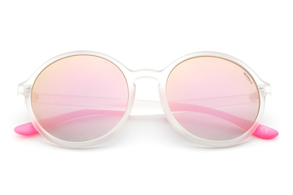 Crystal - Mirrored Shaded Pink Lens