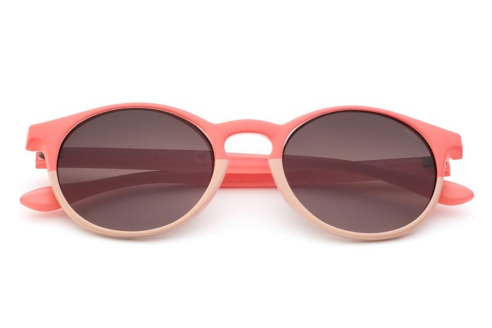 Coral/Pink - Brown Lens