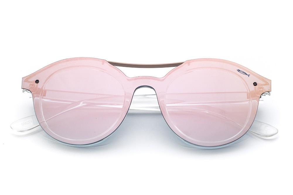 Crystal - Pink Flashed Mask
