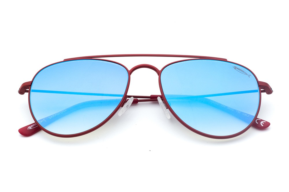 Red - Blue Flashed Lens