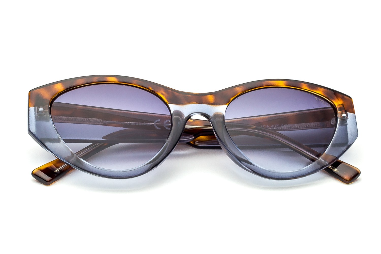 Havana/Blue - Gray Shaded Lenses