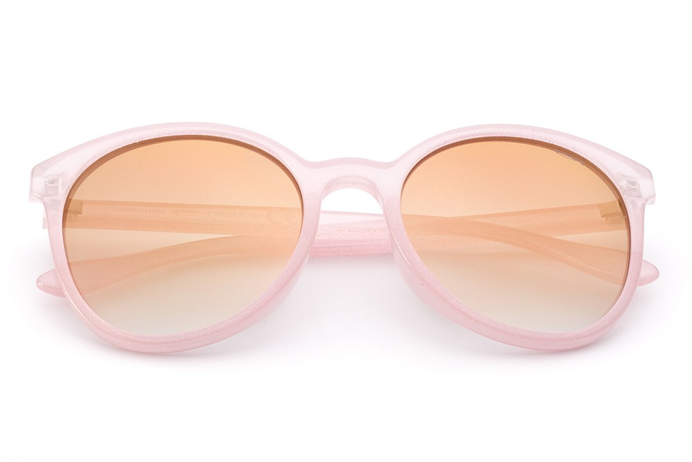 Glitter Pink - Golden Flashed Lens