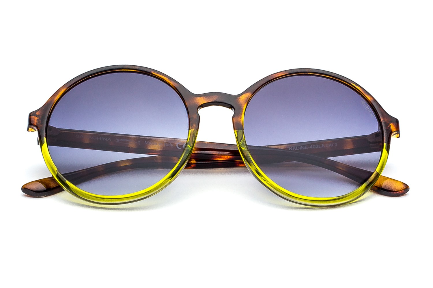 Havana/ Yellow - Gray Shaded Lenses