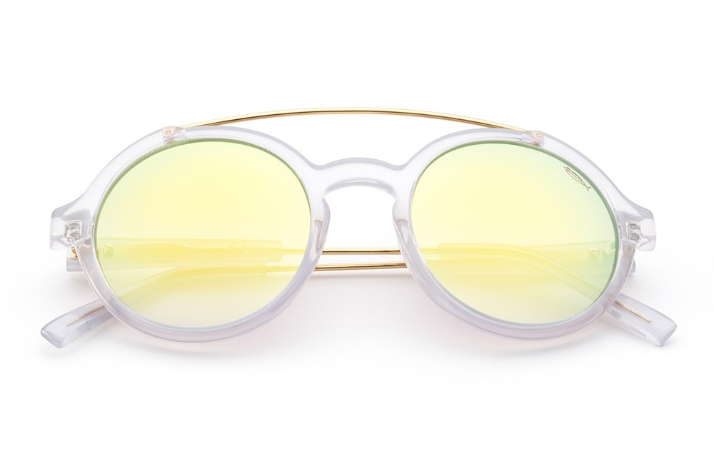Pearl White - Flashed Lime Lens