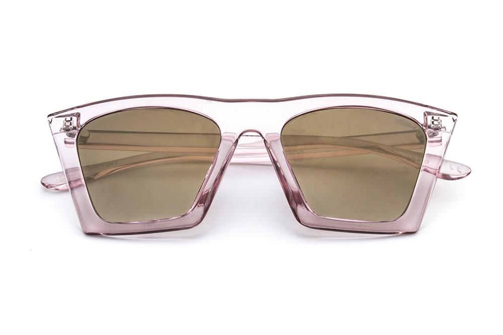 Pink - Golden Flashed Lens