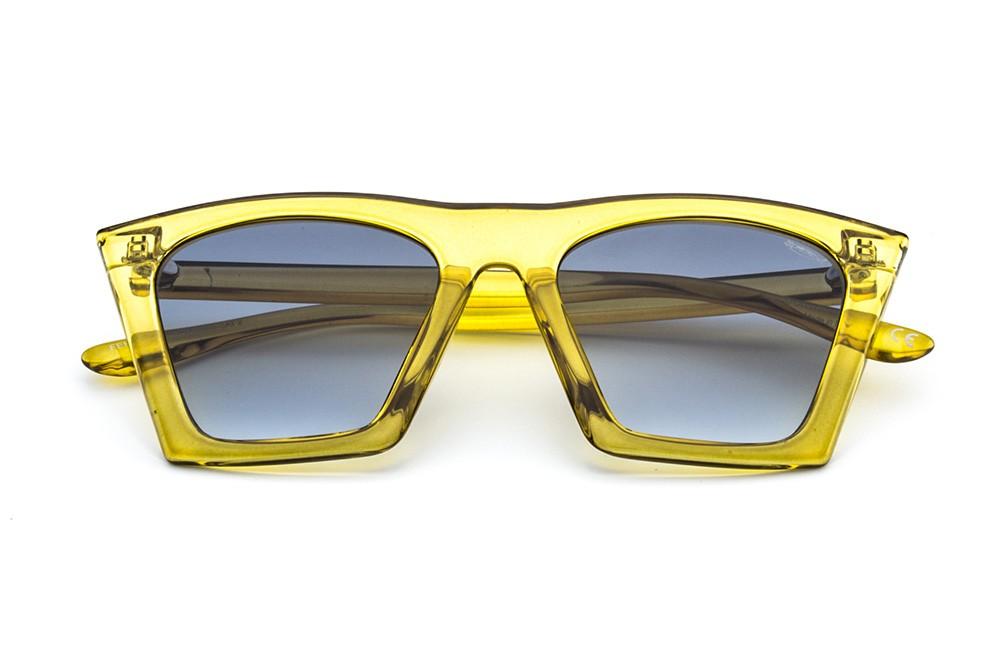 Yellow - Grey/Dark Blue Shaded Lens