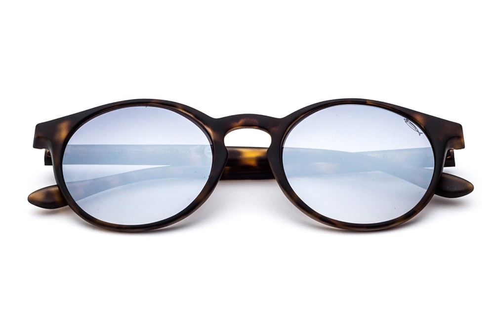 Tortoise Shell - Grey Flashed Lens