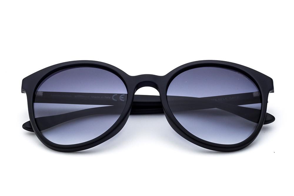 Black/Blue - Grey Shaded Lens