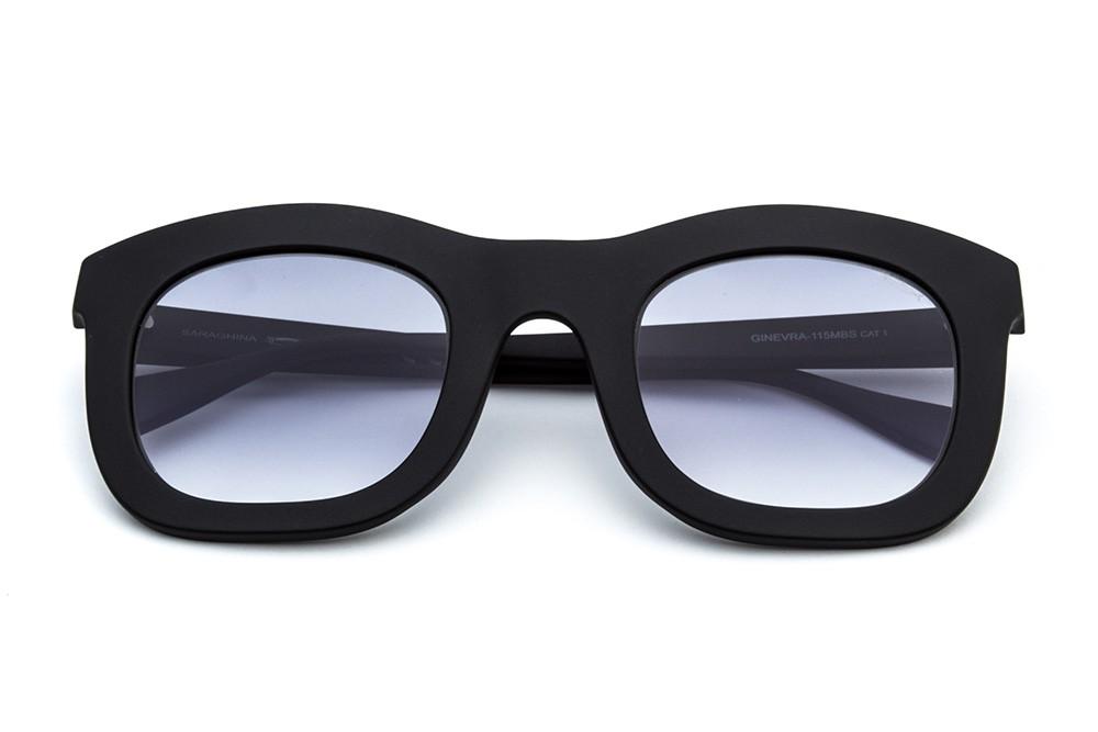 Black - Grey/Blue Shaded Lens