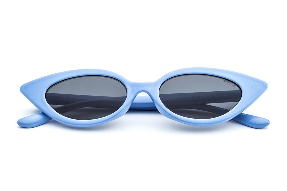Pastel Light Blue - Grey Lens