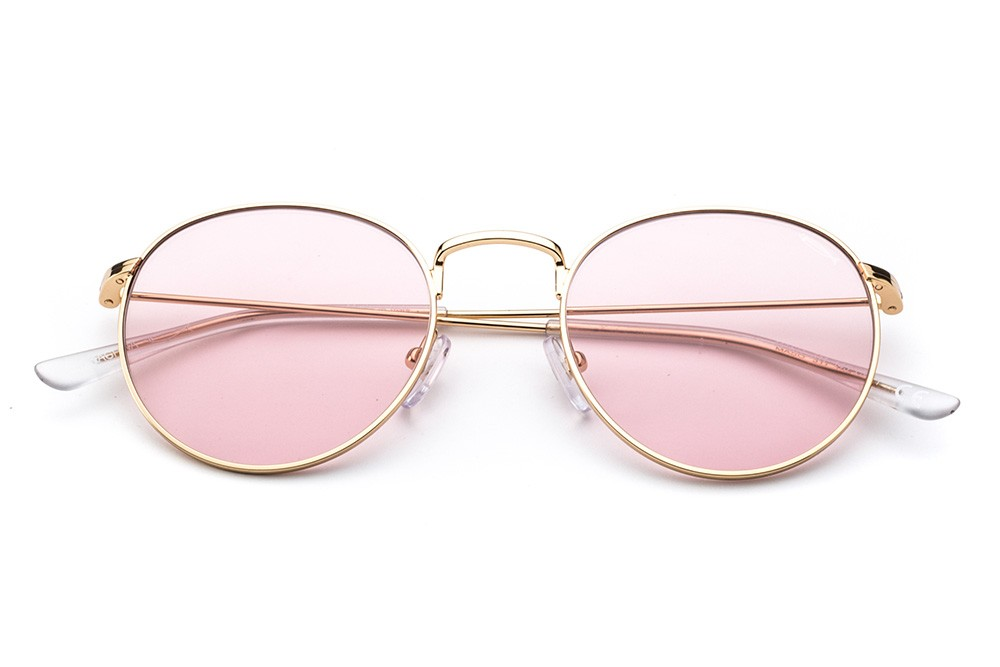 Golden - Pink Lens
