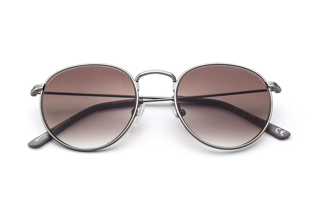 Gunmetal - Shaded Brown Lens