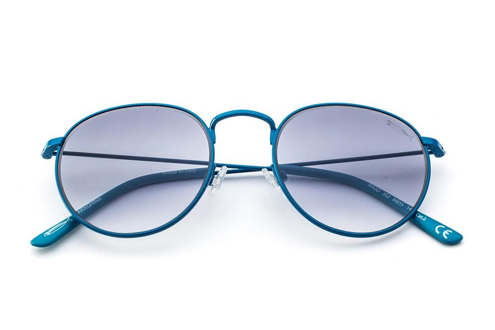 Turquoise - Grey/Dark Blue Shaded Lens