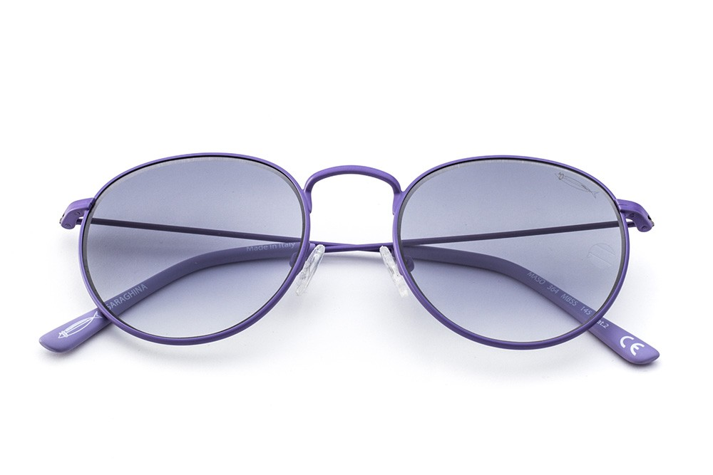Lilac - Grey/Dark Blue Shaded Lens