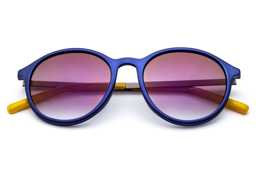 Metallic Blue - Flashed Violet Lens