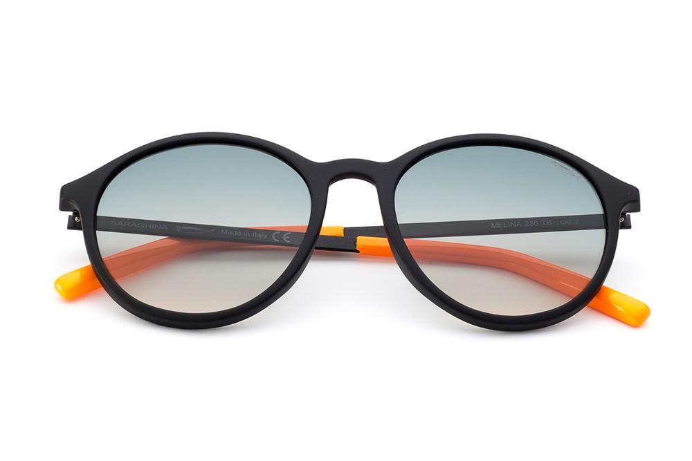 Black - Grey/Ocher Shaded Lens