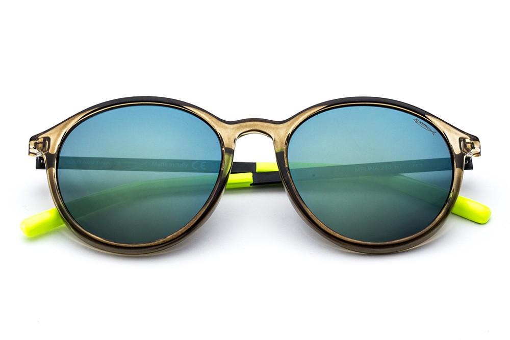 Olive - Green/Blue Flashed Lens