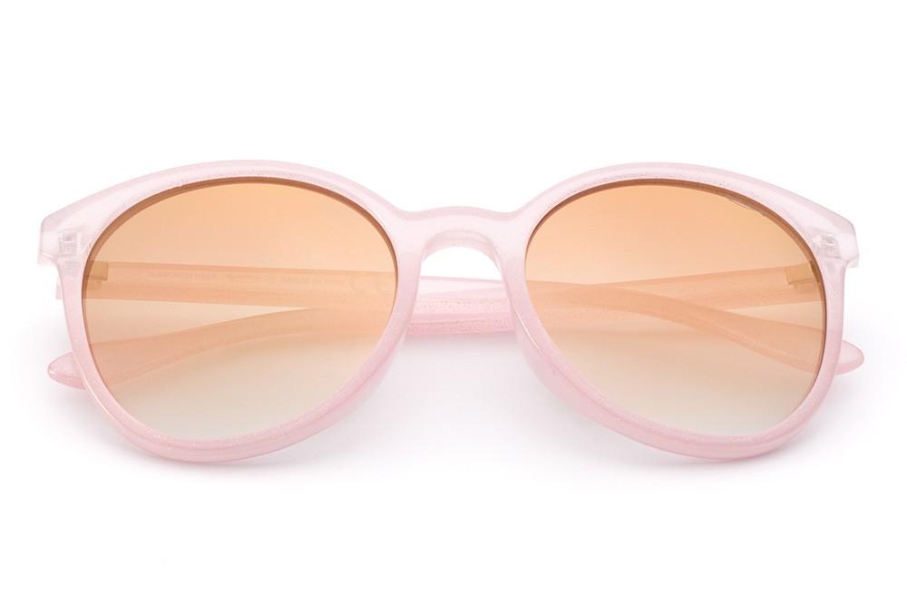 Glitter Pink - Golden Flashed Lens